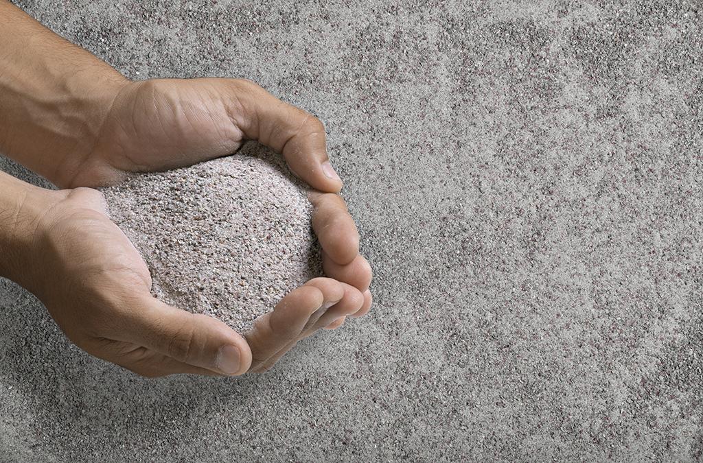 O uso das AREIAS DE BRITA nas concreteiras